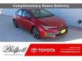 Barcelona Red Metallic 2021 Toyota Corolla SE