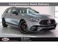 designo Selenite Grey Magno (Matte) 2021 Mercedes-Benz E 63 AMG 4Matic Wagon