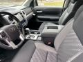 2021 Toyota Tundra Black Interior Front Seat Photo