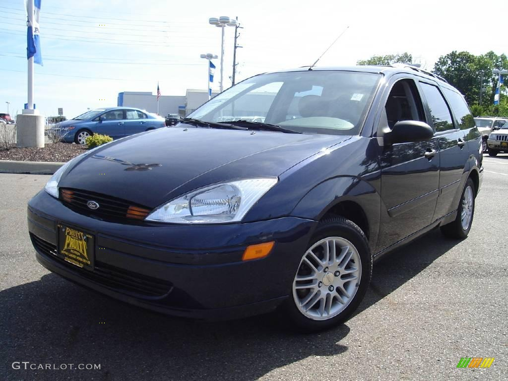 2002 twilight blue metallic ford focus se wagon 14041457 car color galleries. Black Bedroom Furniture Sets. Home Design Ideas