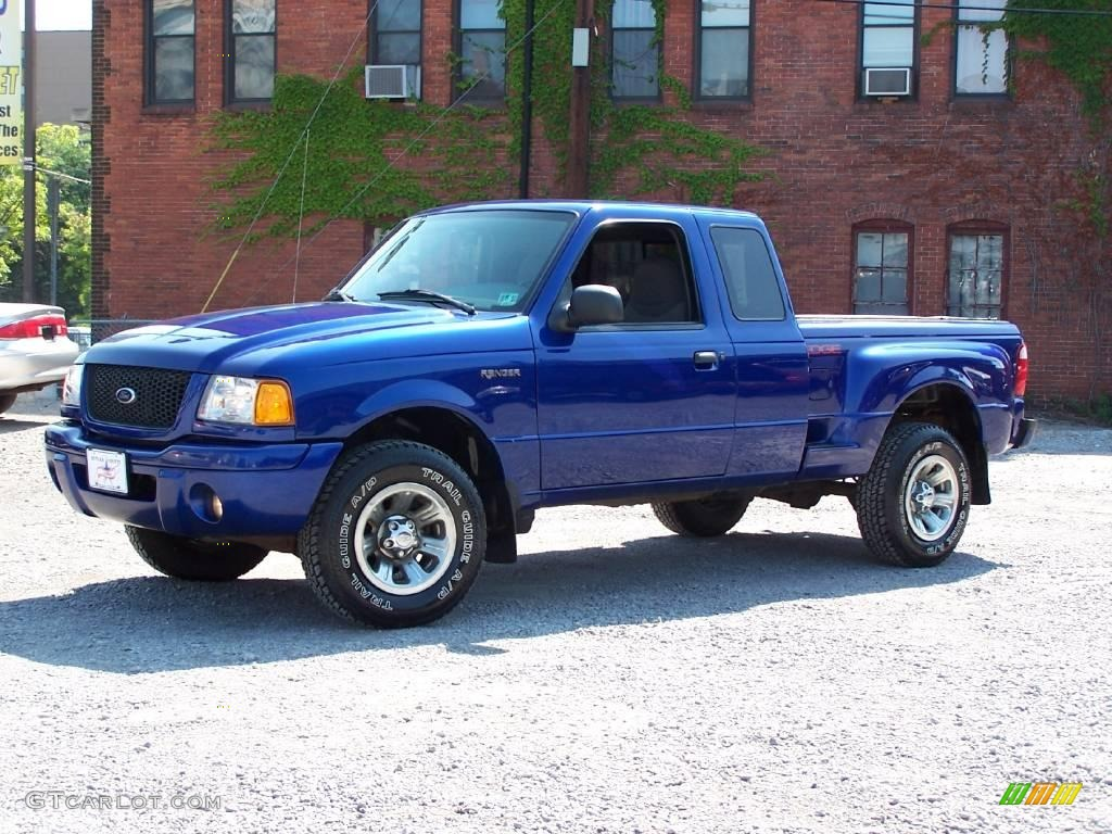 2002 sonic blue metallic ford ranger edge supercab 14052356 car color galleries. Black Bedroom Furniture Sets. Home Design Ideas