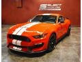 2019 Race Red Ford Mustang Shelby GT350  photo #7