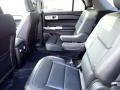 2021 Ford Explorer Ebony Interior Rear Seat Photo