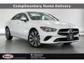 Digital White 2021 Mercedes-Benz CLA 250 Coupe
