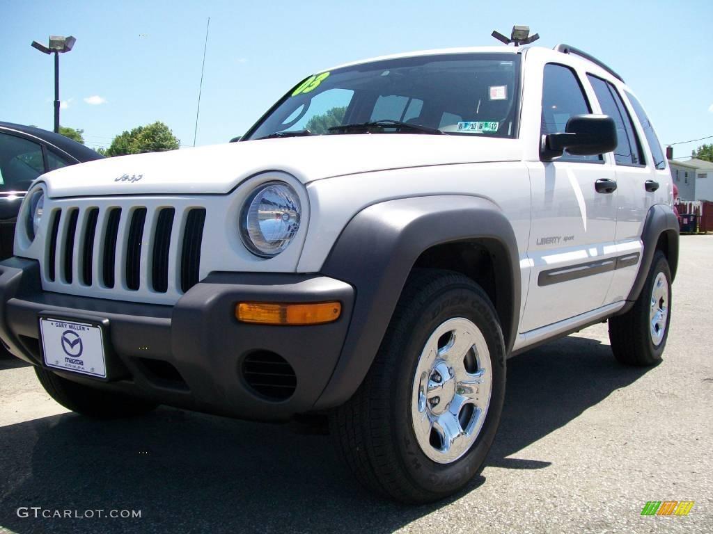 2003 stone white jeep liberty sport 4x4 #14053855 | gtcarlot