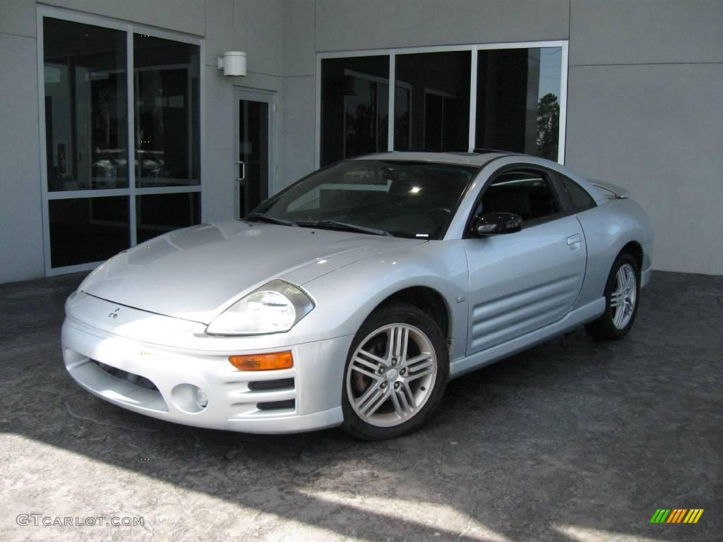 2003 sterling silver metallic mitsubishi eclipse gt coupe. Black Bedroom Furniture Sets. Home Design Ideas