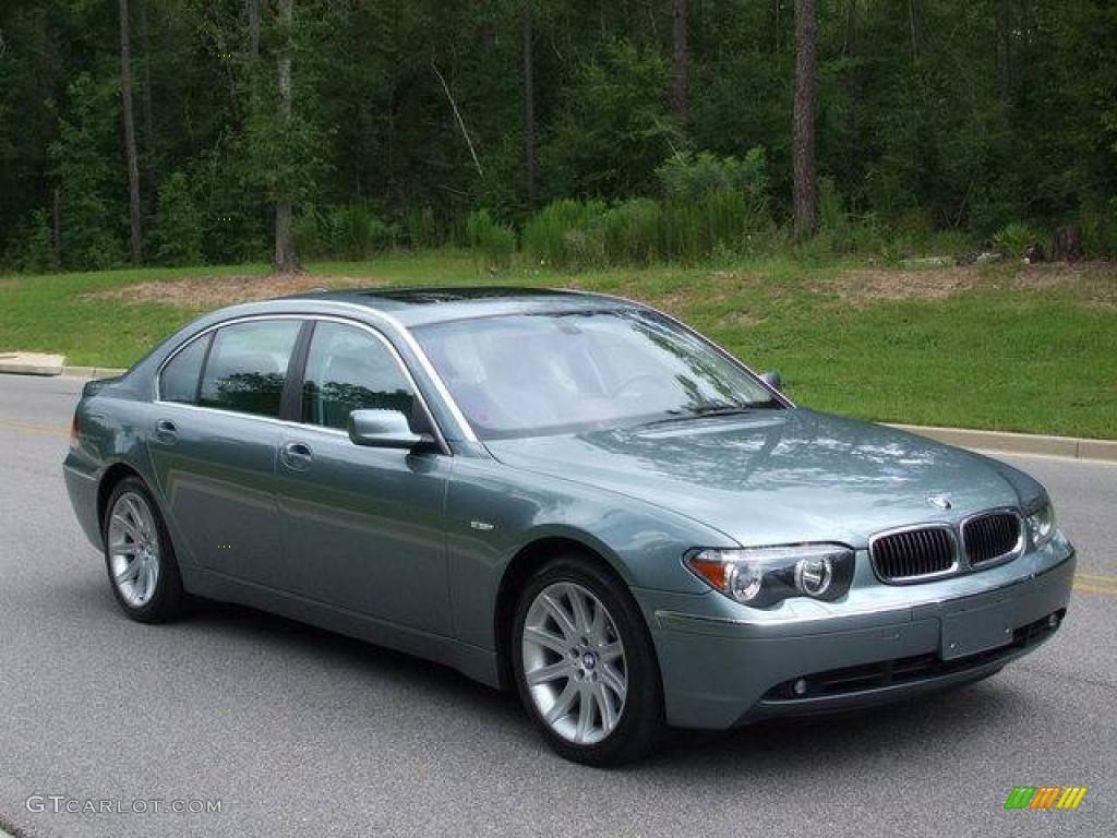 2003 Slate Green Metallic Bmw 7 Series 745li Sedan