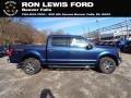 2020 Blue Jeans Ford F150 XLT SuperCrew 4x4  photo #1