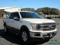 2020 Star White Ford F150 King Ranch SuperCrew 4x4  photo #7