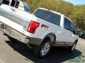2020 Star White Ford F150 King Ranch SuperCrew 4x4  photo #31