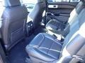 2021 Ford Explorer Ebony Interior Rear Seat Photo