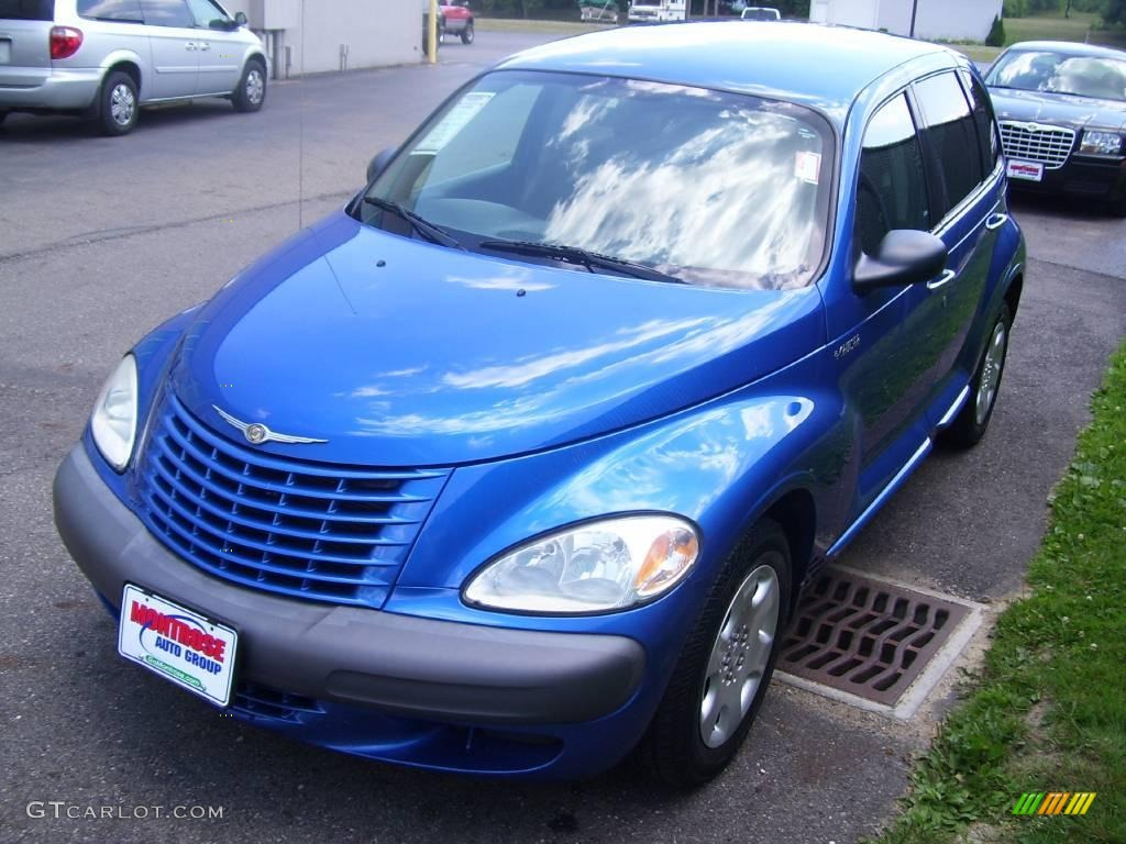 2003 electric blue pearl chrysler pt cruiser 14111227. Black Bedroom Furniture Sets. Home Design Ideas