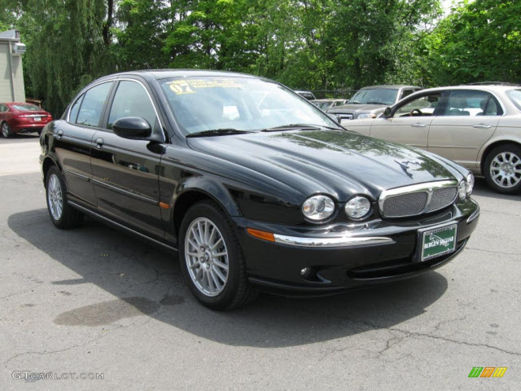 Ebony Black Jaguar X Type