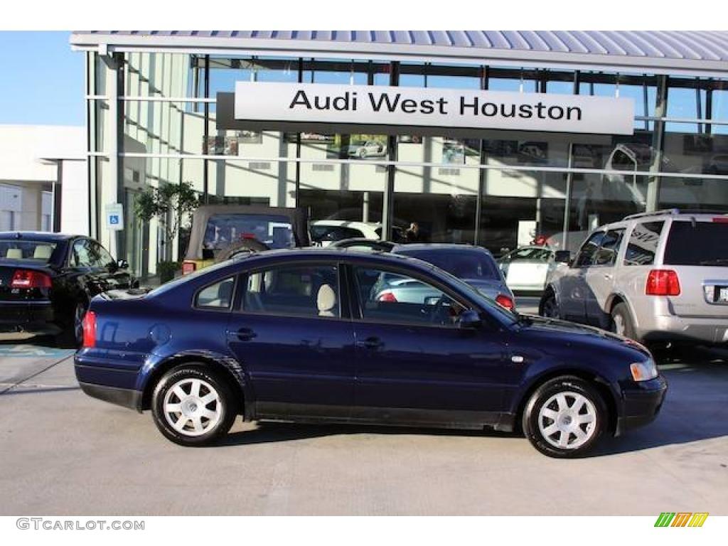 All Types passat 2000 : 2000 Indigo Blue Pearl Metallic Volkswagen Passat GLS 1.8T Sedan ...