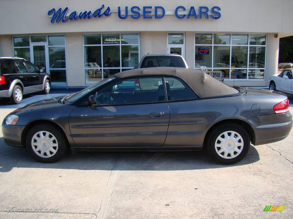 Graphite Metallic Chrysler Sebring Convertible