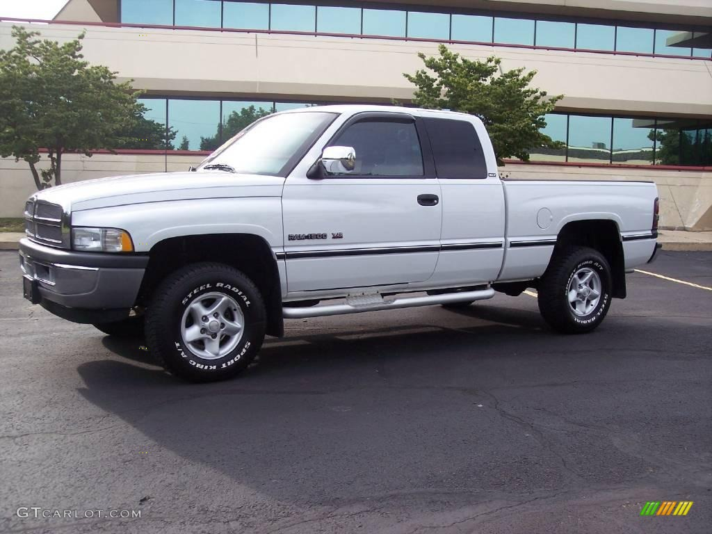 1997 bright white dodge ram 1500 laramie slt extended cab 4x4 14160200 car. Black Bedroom Furniture Sets. Home Design Ideas