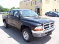 2004 Black Dodge Dakota SLT Quad Cab 4x4  photo #12