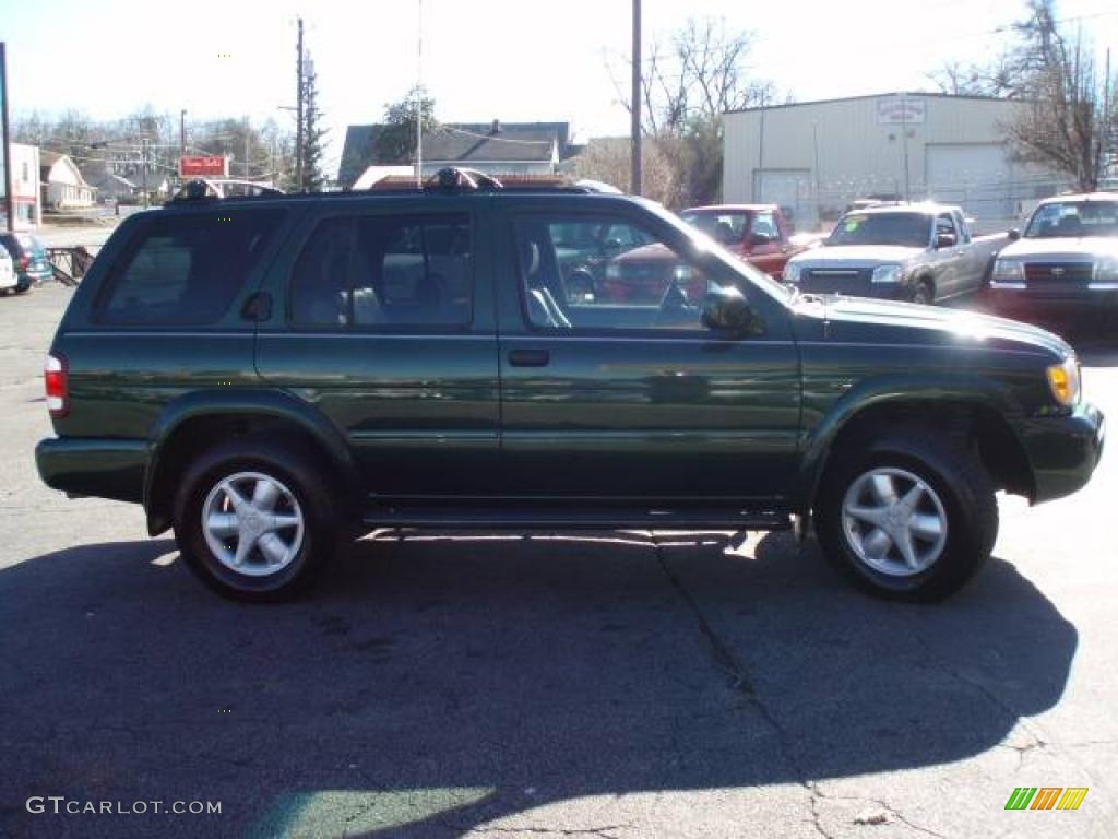 2001 sherwood green pearl nissan pathfinder le #14159382 photo #3