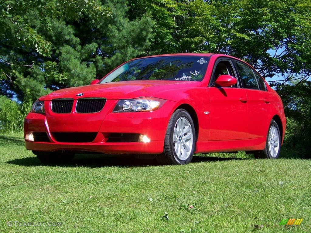 2006 imola red bmw 3 series 325xi sedan 14163474 car color galleries. Black Bedroom Furniture Sets. Home Design Ideas