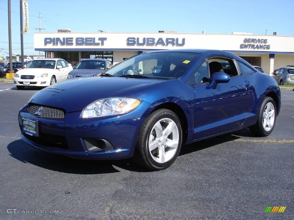 2009 Maizen Blue Pearl Mitsubishi Eclipse GS Coupe #14145237 | GTCarLot.com - Car Color Galleries