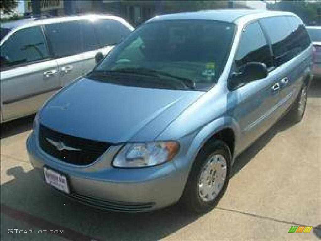 2003 Town & Country LX - Butane Blue Pearl / Taupe photo #1