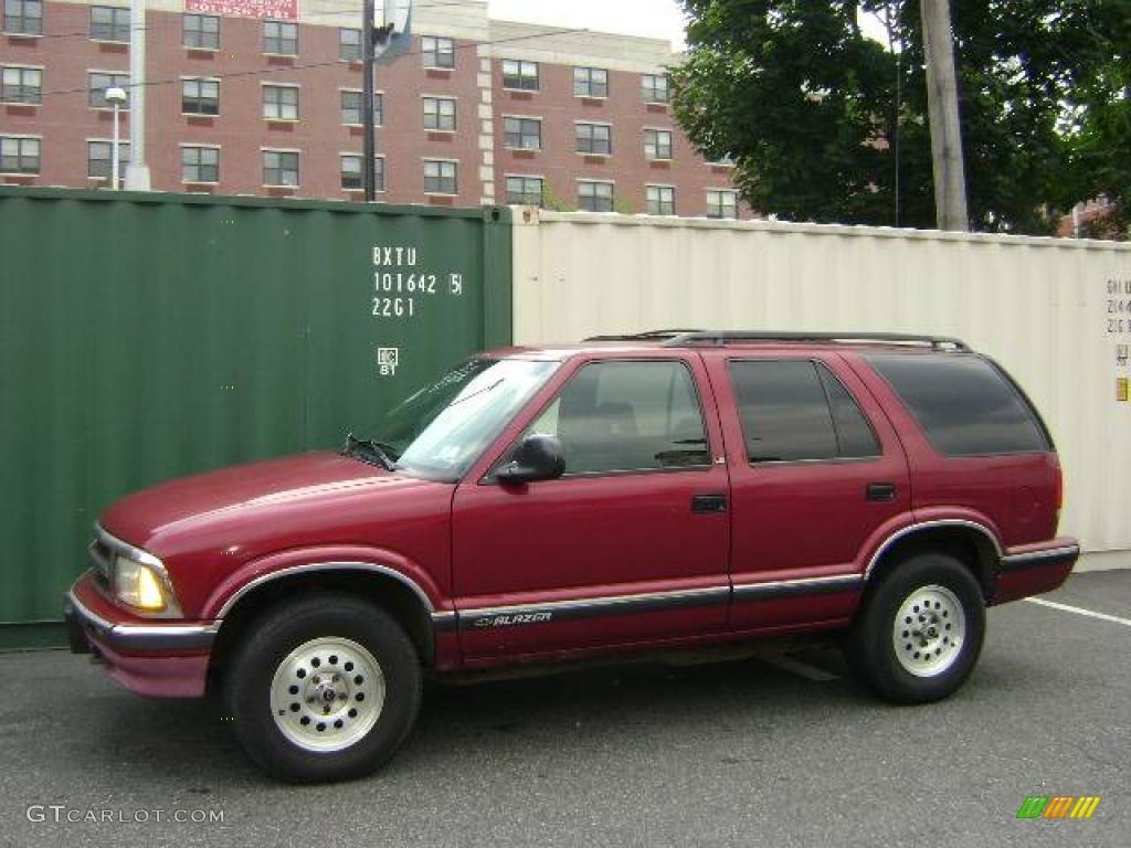 Medium Red Metallic Chevrolet Blazer