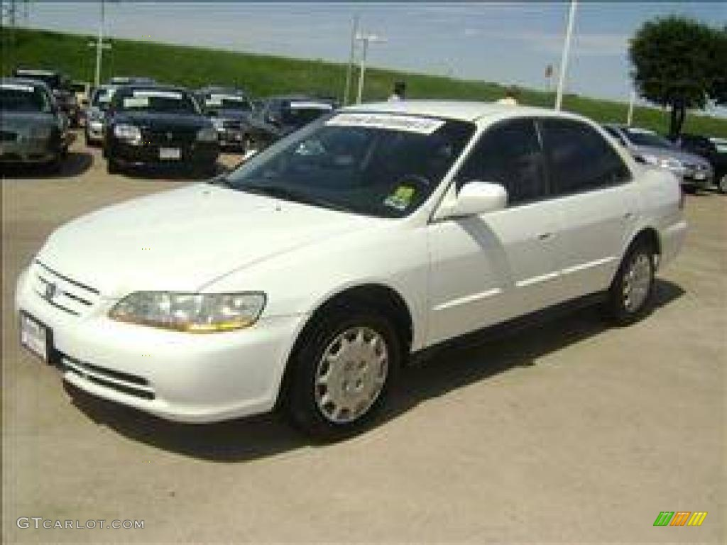 Taffeta White Honda Accord. Honda Accord LX Sedan