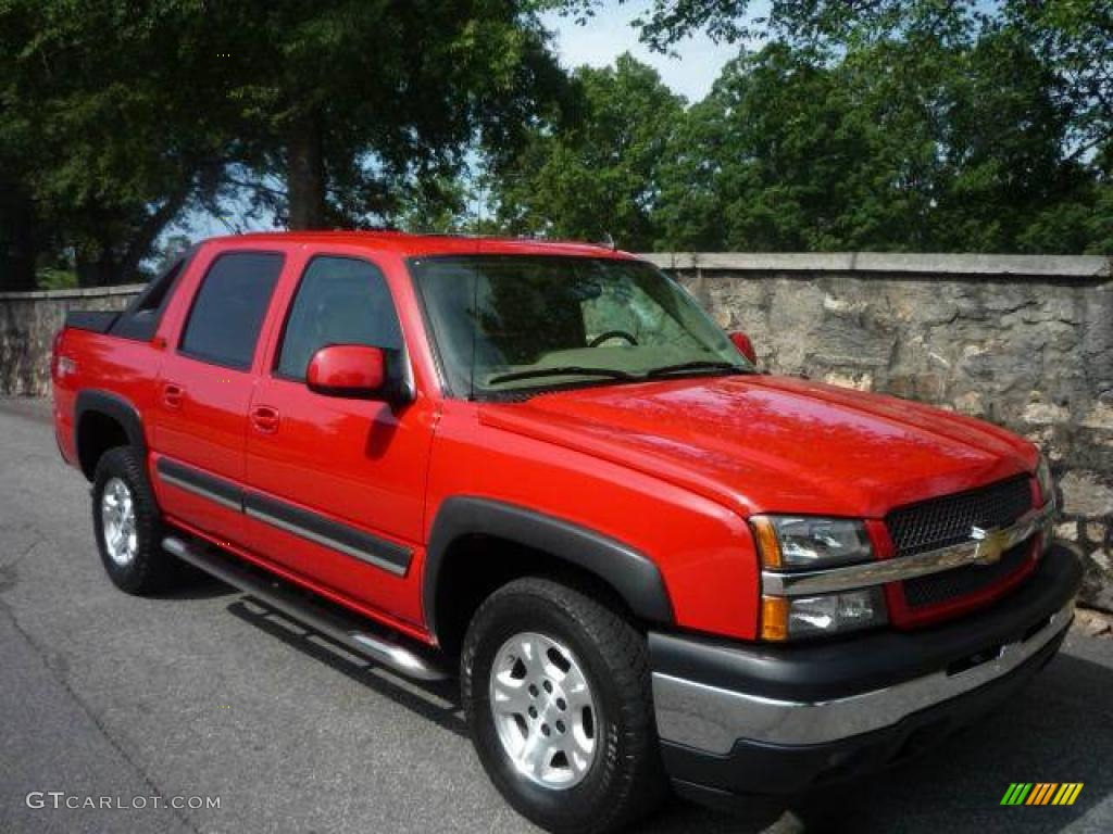 2006 victory red chevrolet avalanche z71 4x4 14212995 photo 22 car color. Black Bedroom Furniture Sets. Home Design Ideas