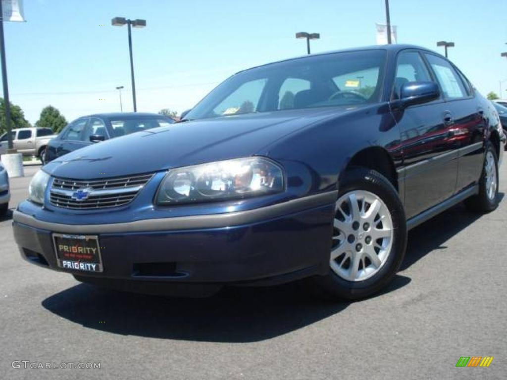 2002 navy blue metallic chevrolet impala 14216535. Cars Review. Best American Auto & Cars Review