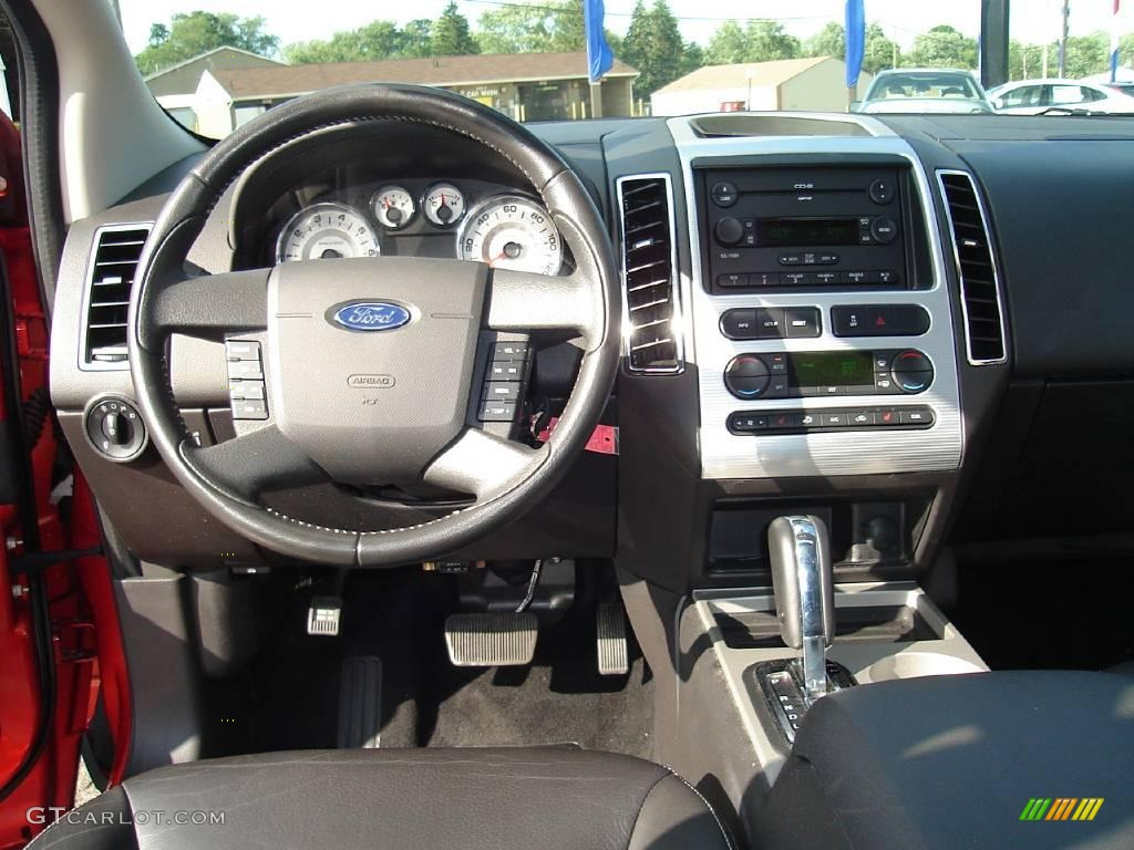 2007 ford edge sel plus charcoal black dashboard photo. Black Bedroom Furniture Sets. Home Design Ideas