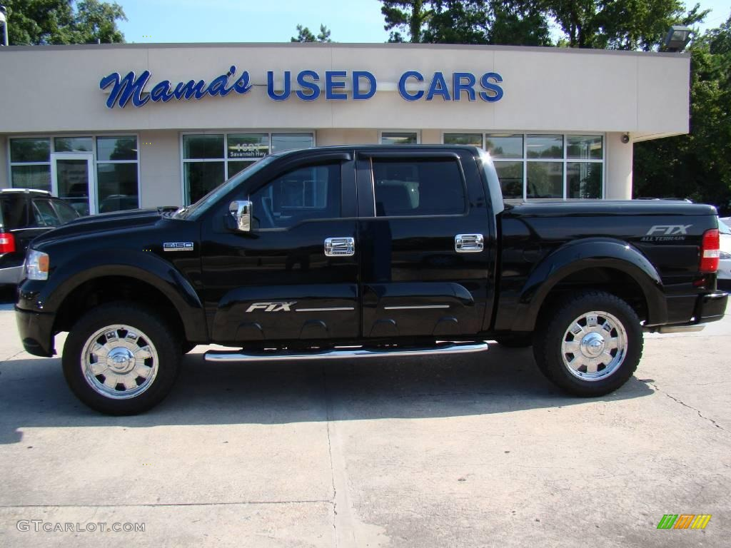 2007 Black Ford F150 Tuscany Ftx Supercrew 4x4 14160339 Gtcarlot Com Car Color Galleries