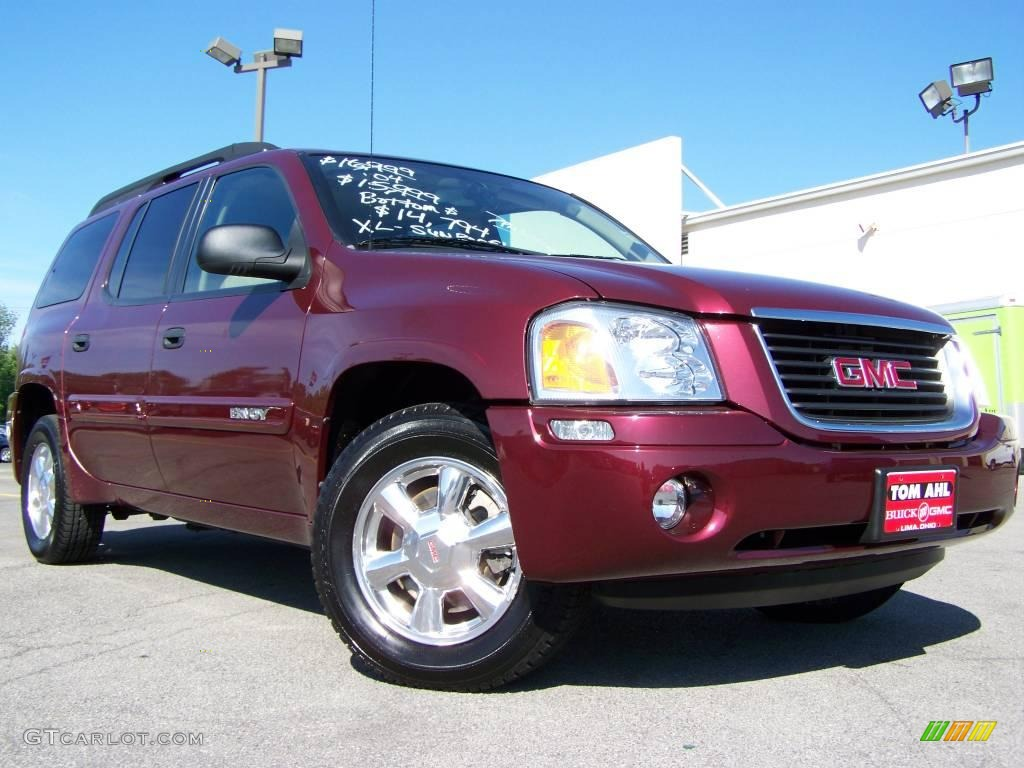 2004 monterey maroon metallic gmc envoy xl sle 4x4. Black Bedroom Furniture Sets. Home Design Ideas