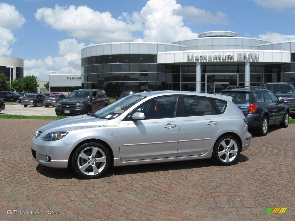 2004 sunlight silver mica mazda mazda3 s hatchback 14224126 car color galleries. Black Bedroom Furniture Sets. Home Design Ideas