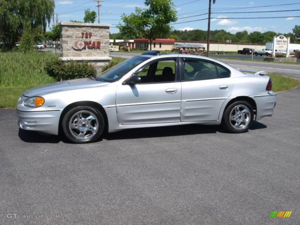 2002 galaxy silver metallic pontiac grand am gt sedan. Black Bedroom Furniture Sets. Home Design Ideas