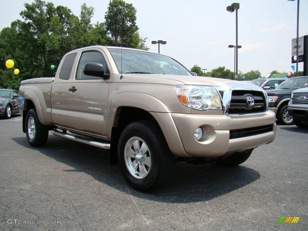 2005 Desert Sand Mica Toyota Tacoma Prerunner Access Cab 14155830