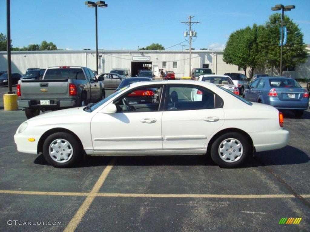 1999 White Pearl Hyundai Sonata 14214298 Gtcarlot Com Car Color