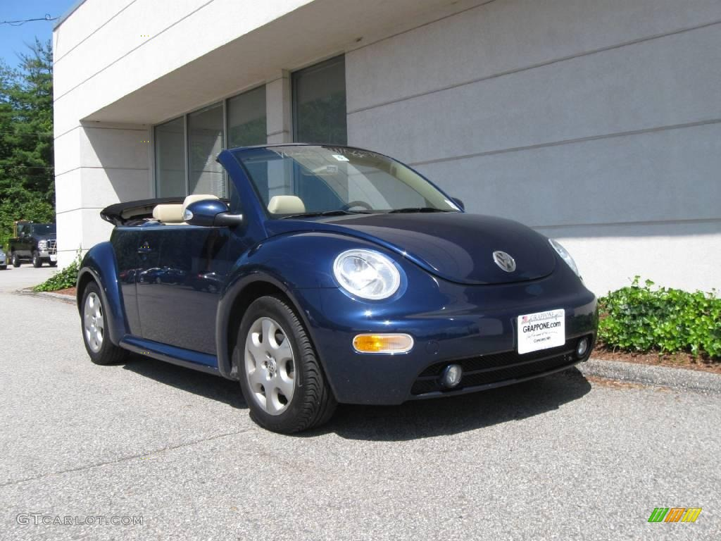 2003 Galactic Blue Metallic Volkswagen New Beetle Gls