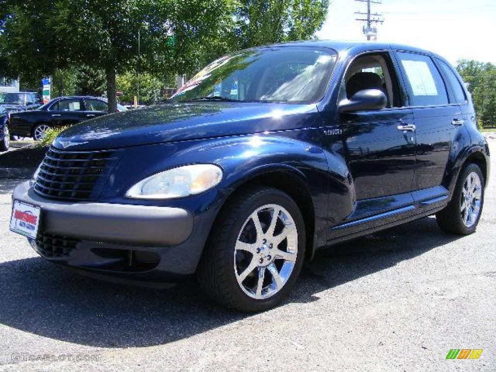 2003 patriot blue pearl chrysler pt cruiser 14292721. Black Bedroom Furniture Sets. Home Design Ideas