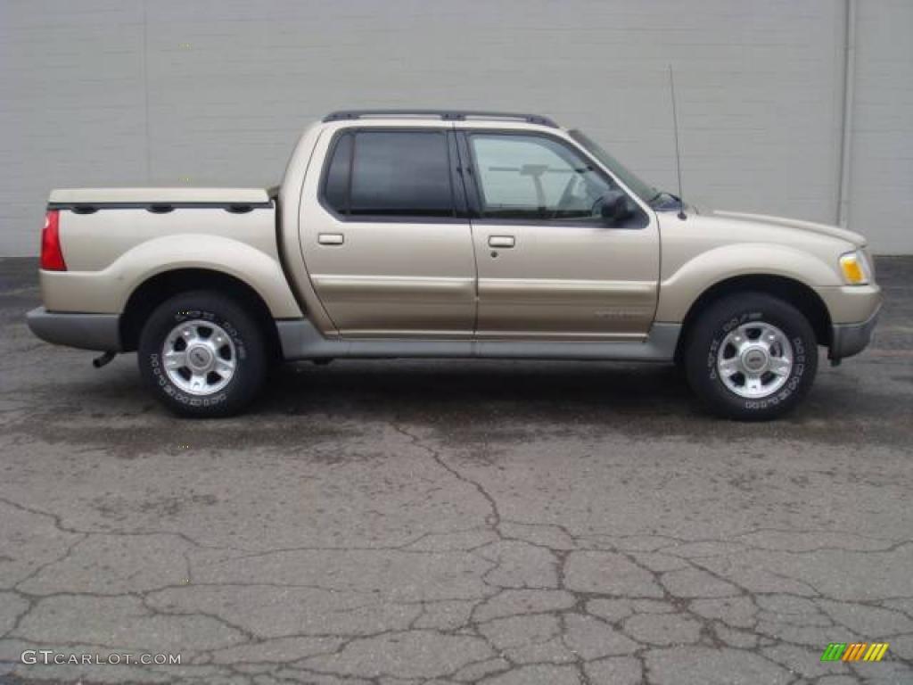 2001 Harvest Gold Metallic Ford Explorer Sport Trac 14300538 Photo 4 GTCa