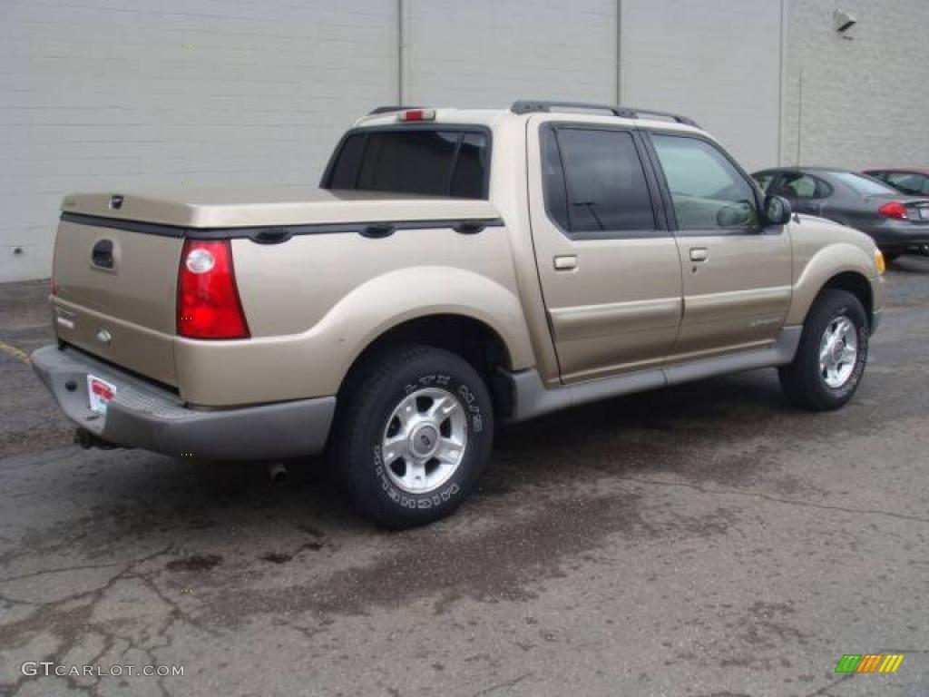 2001 Harvest Gold Metallic Ford Explorer Sport Trac 14300538 Photo 5 GTCa