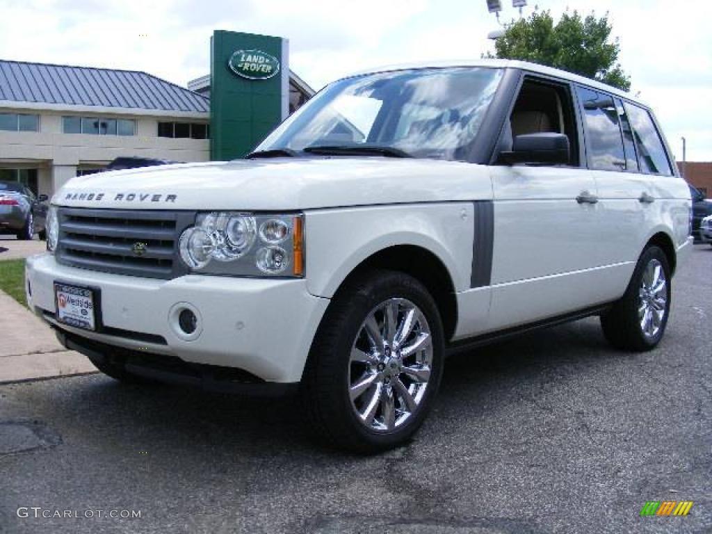 2007 Range Rover HSE - Chawton White / Parchment photo #1