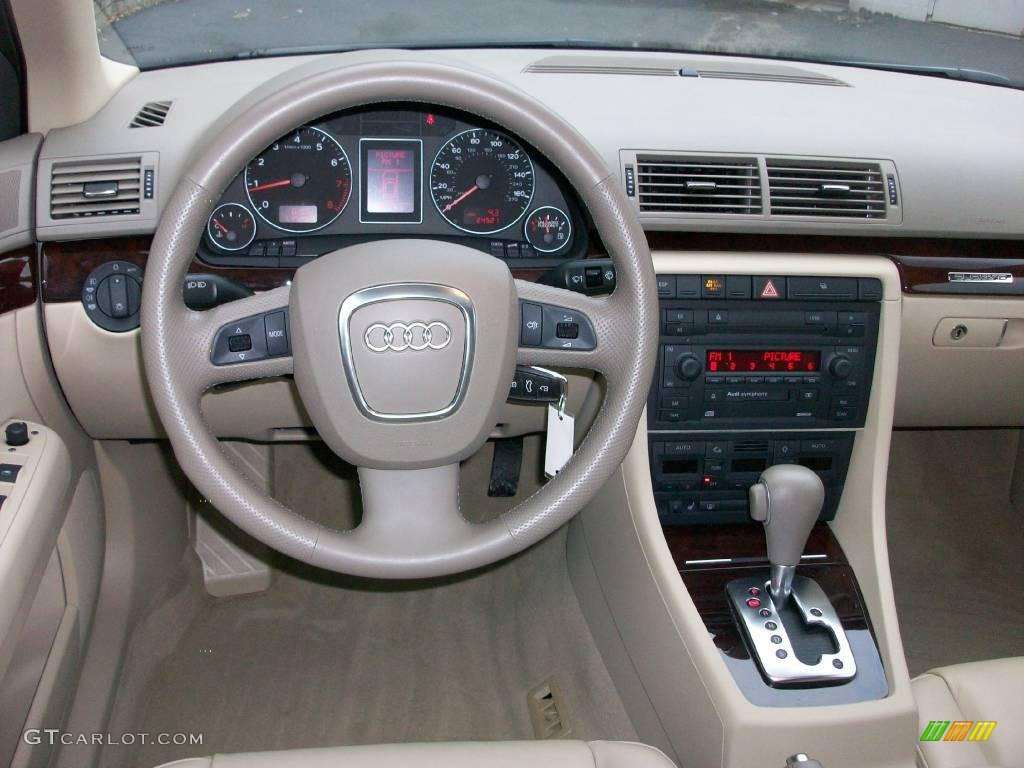 2006 brilliant red audi a4 2.0t quattro sedan #14356706 photo #12