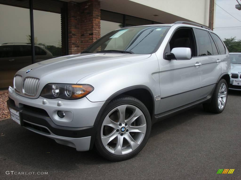 2006 titanium silver metallic bmw x5 14357749 car color galleries. Black Bedroom Furniture Sets. Home Design Ideas