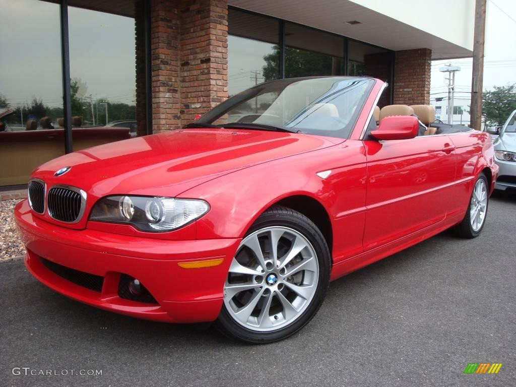 2005 Imola Red Bmw 3 Series 330i Convertible 14357752