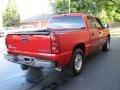 2005 Victory Red Chevrolet Silverado 1500 LS Crew Cab  photo #5