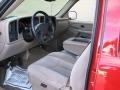 2005 Victory Red Chevrolet Silverado 1500 LS Crew Cab  photo #11