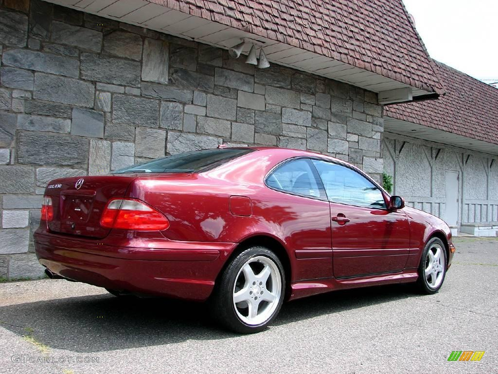 2002 bordeaux red metallic mercedes benz clk 430 coupe 14423887 photo 4 car. Black Bedroom Furniture Sets. Home Design Ideas