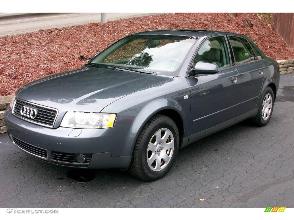 2003 dolphin gray pearl audi a4 1 8t quattro sedan 14425081 car color galleries. Black Bedroom Furniture Sets. Home Design Ideas