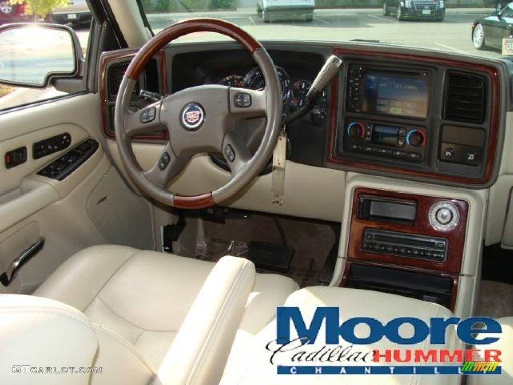 2006 white diamond cadillac escalade esv awd 14423226 photo 19 car color for Cadillac escalade interior colors