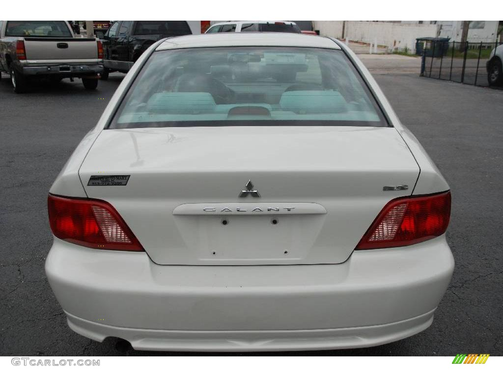 2003 galant es dover white pearl gray photo 9 - Mitsubishi Galant 2003 White